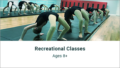 Recreational Classes Ages 8+