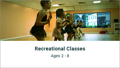 Recreational Classes Ages 2-8